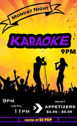 Kelowna Karaoke Pub - Monday nights is Karaoke Madness at O'Flannigan's Pub