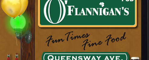 downtown Kelowna Pub - O'Flannigan's Pub - Fun Times Fine Food